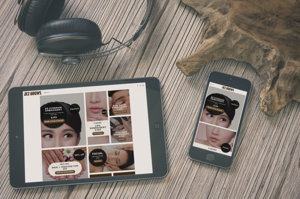 beauty services like eyebrow embroidery singapore