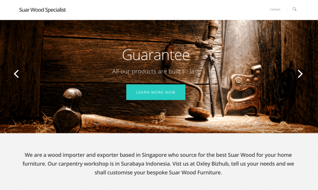 wood carpentry singapore