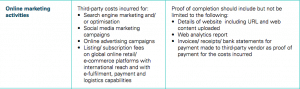 mra grant online marketing singapore