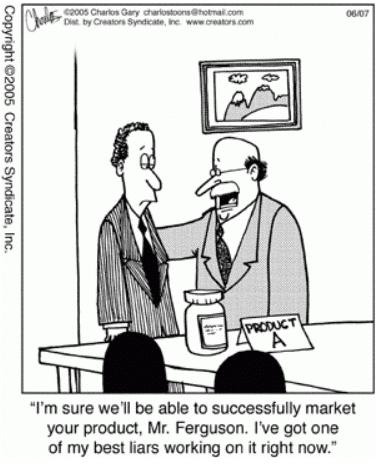 digital marketer bluffing