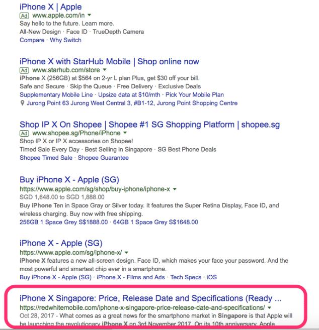 content marketing singapore