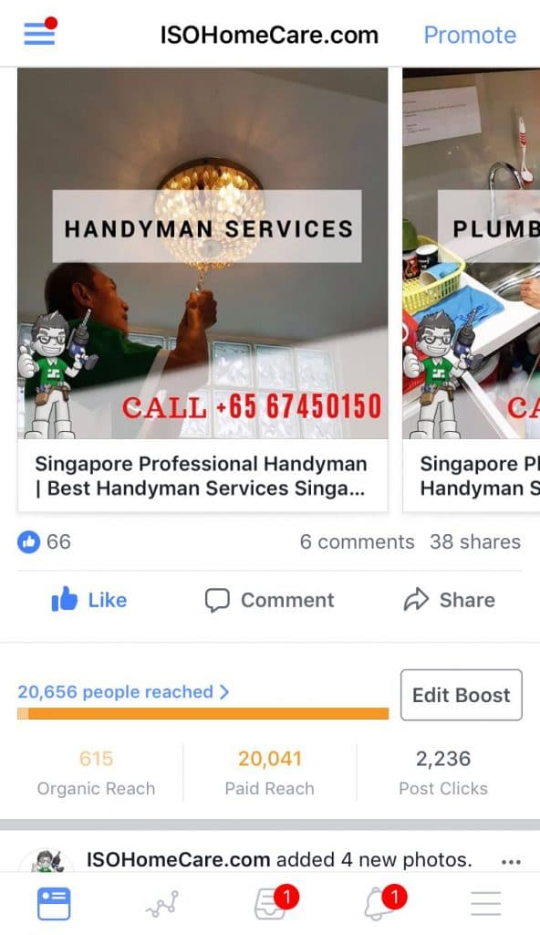 fb advertising by novatise singapore