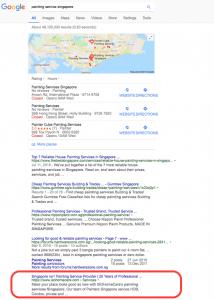 keyword ranking seo singapore