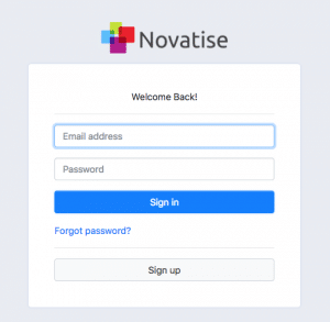 novatise client portal login